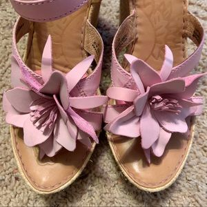 Born Pale Pink Wedges 8